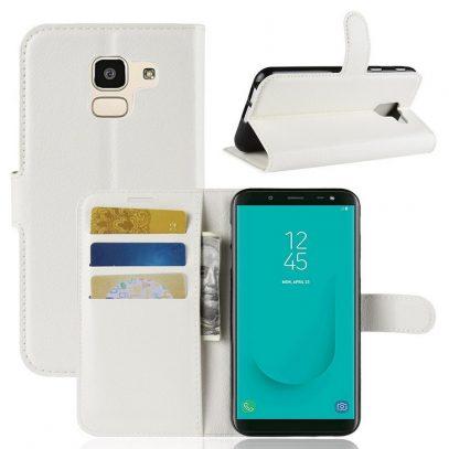 Samsung Galaxy J6 (2018) Suojakotelo Valkoinen