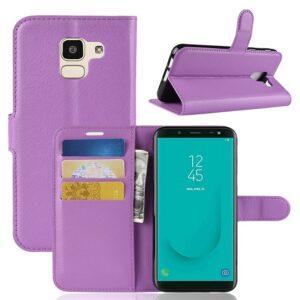 Samsung Galaxy J6 (2018) Suojakotelo Violetti