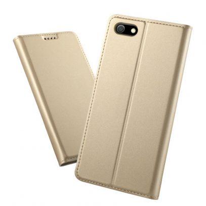Huawei Honor 7S Kannellinen Suojakotelo Kulta