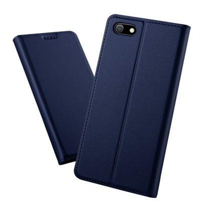 Huawei Honor 7S Kannellinen Suojakotelo Sininen