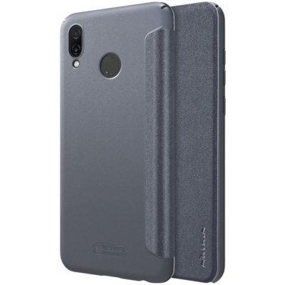 Huawei Honor Play Kotelo Nillkin Sparkle Musta