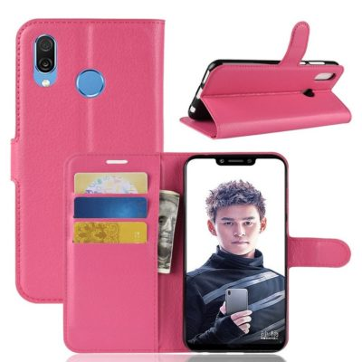 Huawei Honor Play Lompakkokotelo Pinkki