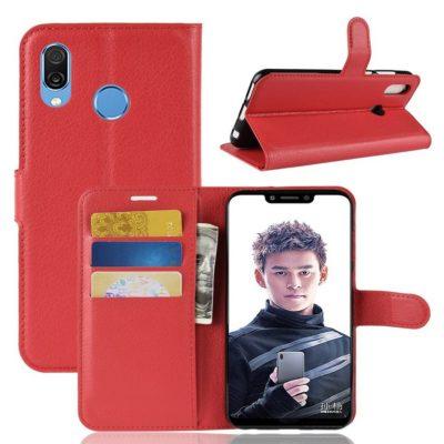 Huawei Honor Play Lompakkokotelo Punainen
