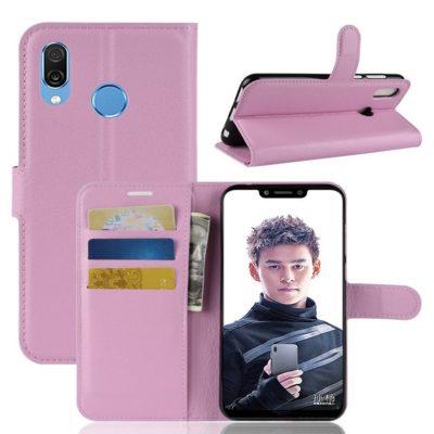 Huawei Honor Play Lompakkokotelo Vaaleanpunainen
