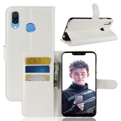 Huawei Honor Play Lompakkokotelo Valkoinen