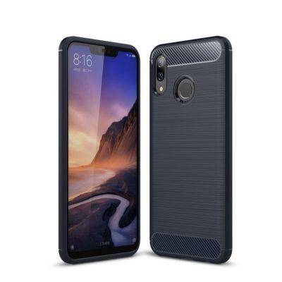 Huawei Nova 3 Suojakuori Hiilikuitu Tummansininen