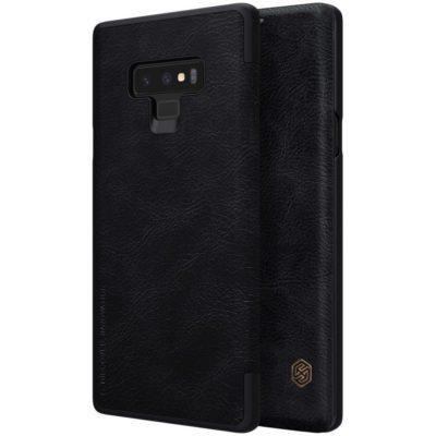 Samsung Galaxy Note 9 Kotelo Nillkin Qin Musta