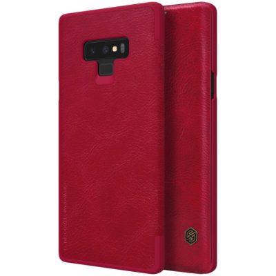 Samsung Galaxy Note 9 Kotelo Nillkin Qin Punainen