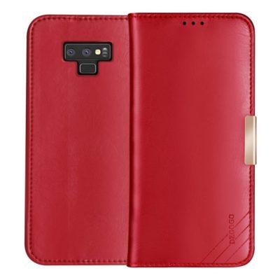 Samsung Galaxy Note 9 Nahkakotelo DZGOGO Punainen
