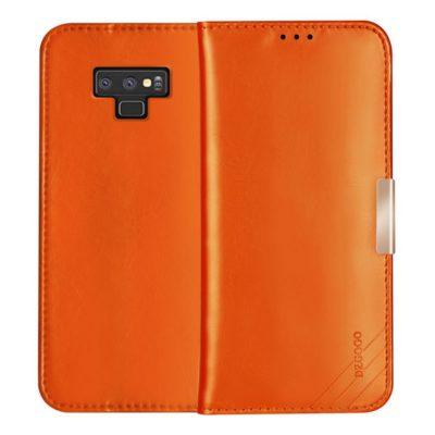 Samsung Galaxy Note 9 Nahkakotelo DZGOGO Ruskea