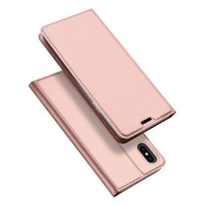 Apple iPhone Xs Max Kotelo Dux Ducis Ruusukulta