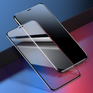 Apple iPhone Xs Max Panssarilasi Baseus Musta