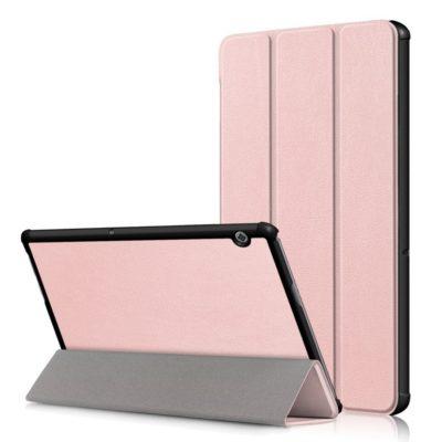 Huawei MediaPad T5 10 10.1″ Suojakotelo Ruusukulta