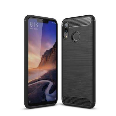 Huawei Nova 3 Suojakuori Hiilikuitu Musta
