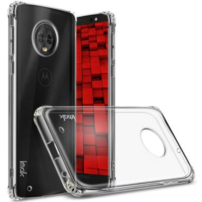 Motorola Moto G6 Kuori IMAK Läpinäkyvä + Suojakalvo