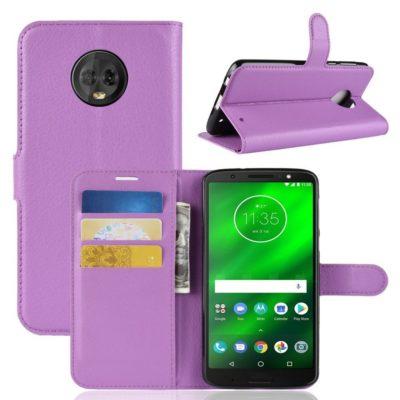 Motorola Moto G6 Plus Suojakotelo Violetti