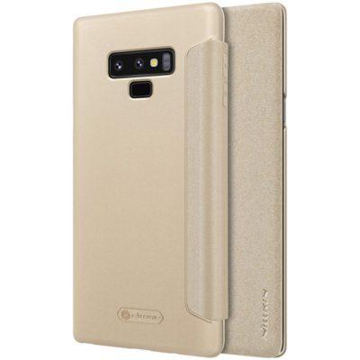 Samsung Galaxy Note 9 Kotelo Nillkin Sparkle Kulta
