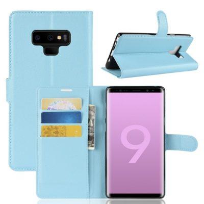 Samsung Galaxy Note 9 Lompakkokotelo Sininen