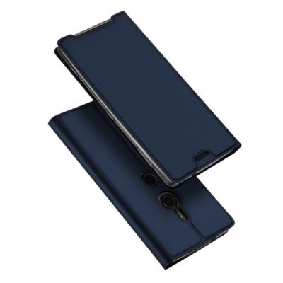 Sony Xperia XZ3 Kotelo Dux Ducis Tummansininen