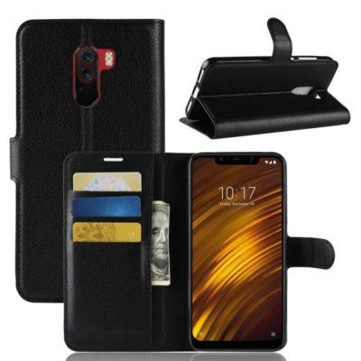 Xiaomi Pocophone F1 Lompakkokotelo Musta