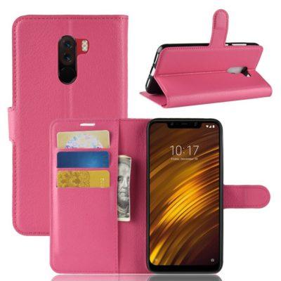 Xiaomi Pocophone F1 Lompakkokotelo Pinkki