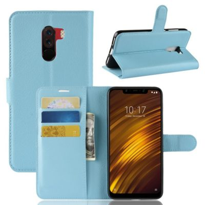 Xiaomi Pocophone F1 Lompakkokotelo Sininen