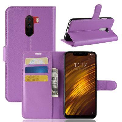 Xiaomi Pocophone F1 Lompakkokotelo Violetti