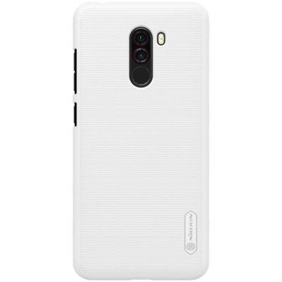 Xiaomi Pocophone F1 Suojakuori Nillkin Frosted Valkoinen