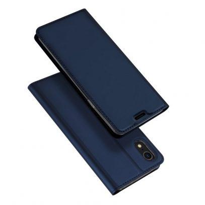 Apple iPhone XR Kotelo Dux Ducis Tummansininen