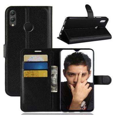 Huawei Honor 8X Lompakkokotelo Musta