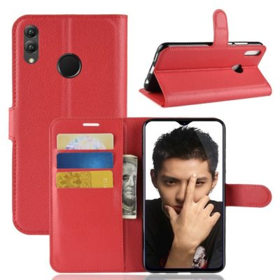 Huawei Honor 8X Lompakkokotelo Punainen