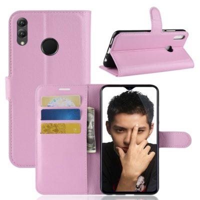 Huawei Honor 8X Lompakkokotelo Vaaleanpunainen