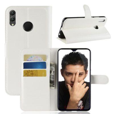 Huawei Honor 8X Lompakkokotelo Valkoinen