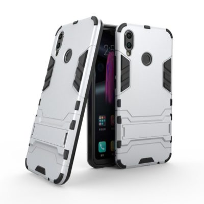 Huawei Honor 8X Suojakuori 2-osainen Hopea