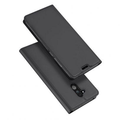 Huawei Mate 20 Lite Kotelo Dux Ducis Tummanharmaa