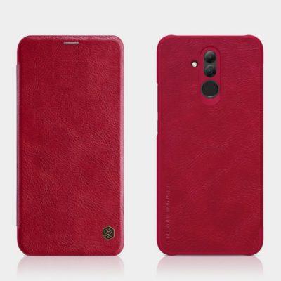 Huawei Mate 20 Lite Kotelo Nillkin Qin Punainen