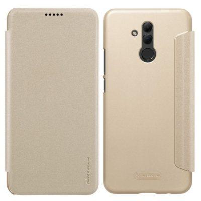 Huawei Mate 20 Lite Kotelo Nillkin Sparkle Kulta