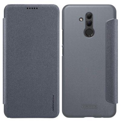 Huawei Mate 20 Lite Kotelo Nillkin Sparkle Musta