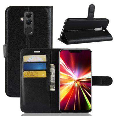 Huawei Mate 20 Lite Lompakkokotelo Musta