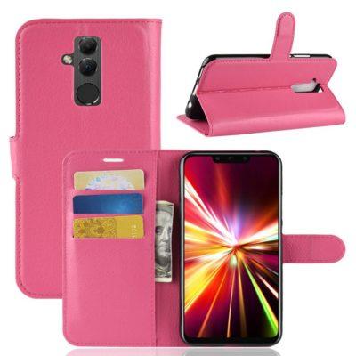 Huawei Mate 20 Lite Lompakkokotelo Pinkki