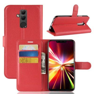 Huawei Mate 20 Lite Lompakkokotelo Punainen