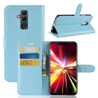 Huawei Mate 20 Lite Lompakkokotelo Sininen