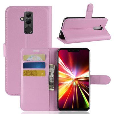 Huawei Mate 20 Lite Lompakkokotelo Vaaleanpunainen