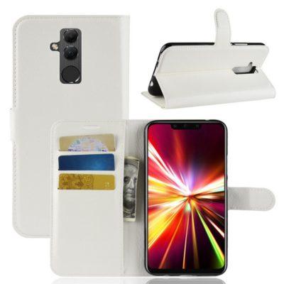 Huawei Mate 20 Lite Lompakkokotelo Valkoinen