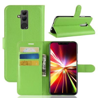 Huawei Mate 20 Lite Lompakkokotelo Vihreä