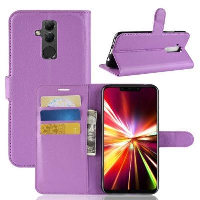 Huawei Mate 20 Lite Lompakkokotelo Violetti