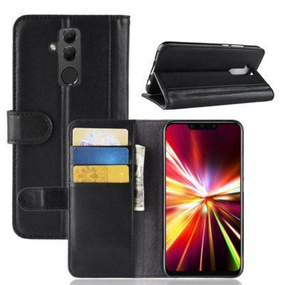 Huawei Mate 20 Lite Nahkakotelo Musta