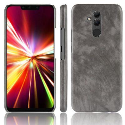Huawei Mate 20 Lite Suojakuori PU-Nahka Harmaa