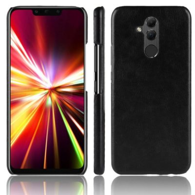 Huawei Mate 20 Lite Suojakuori PU-Nahka Musta