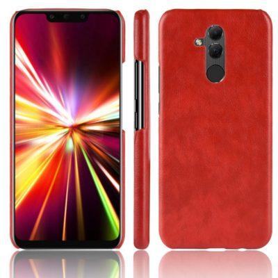 Huawei Mate 20 Lite Suojakuori PU-Nahka Punainen